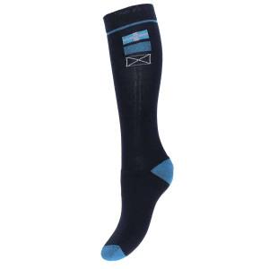 Peak sokken blauw