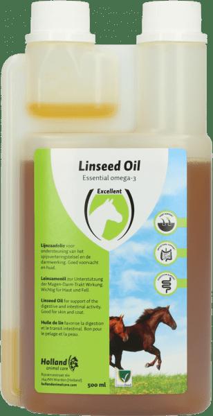 lijnzaad olie 500ml